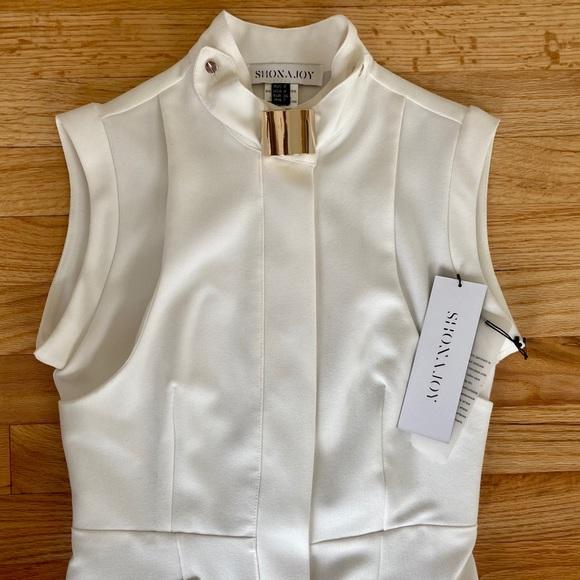 NWT Shona Joy White Dress